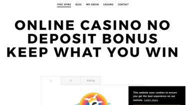 Online Casino No Deposit Bonus Keep Winnings Reviews