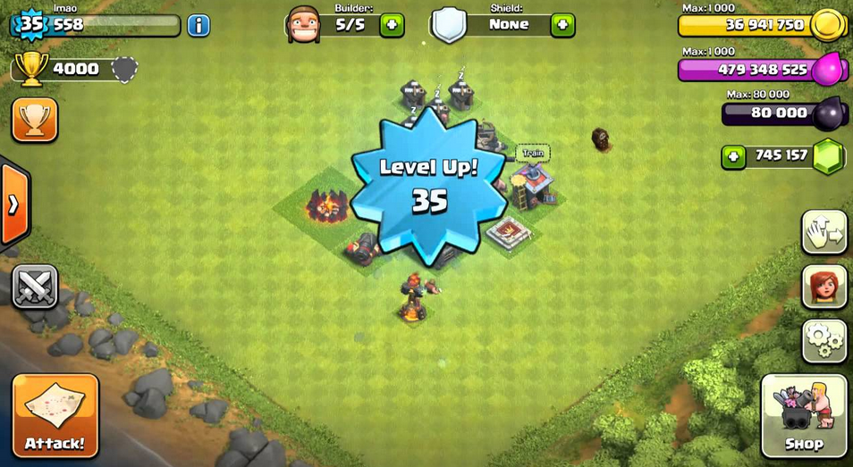 clash of clans unlimited money and gems apk download