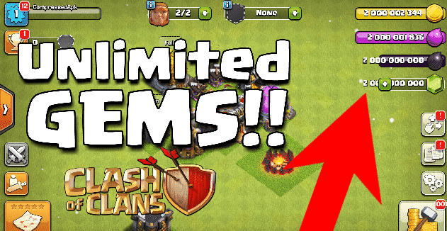 Clash of Clans Mod Apk Download ( Unlimited Gems )