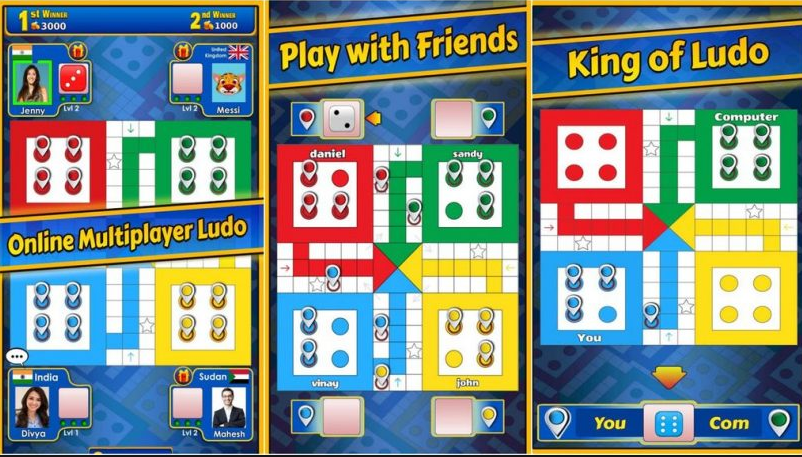 Ludo Online Game 2 Player, Ludo Online with Friends