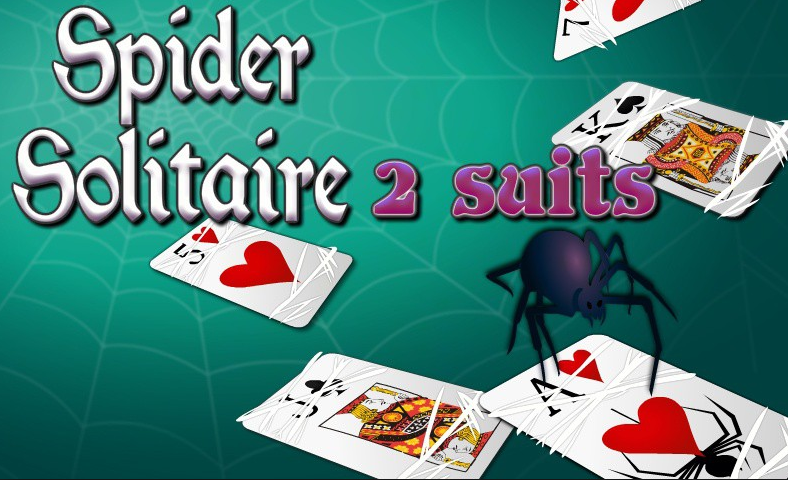 spider solitaire 2 suit