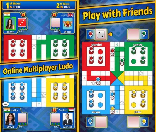 Ludo Games 2 Player, Ludo Online with Friends