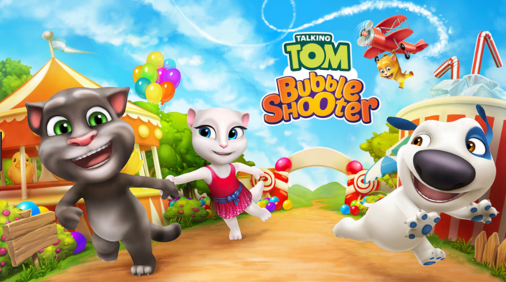 Talking Tom Bubble Shooter Mod Apk 100% Working