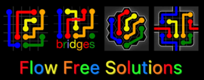 Flow Free Bridges Solutions