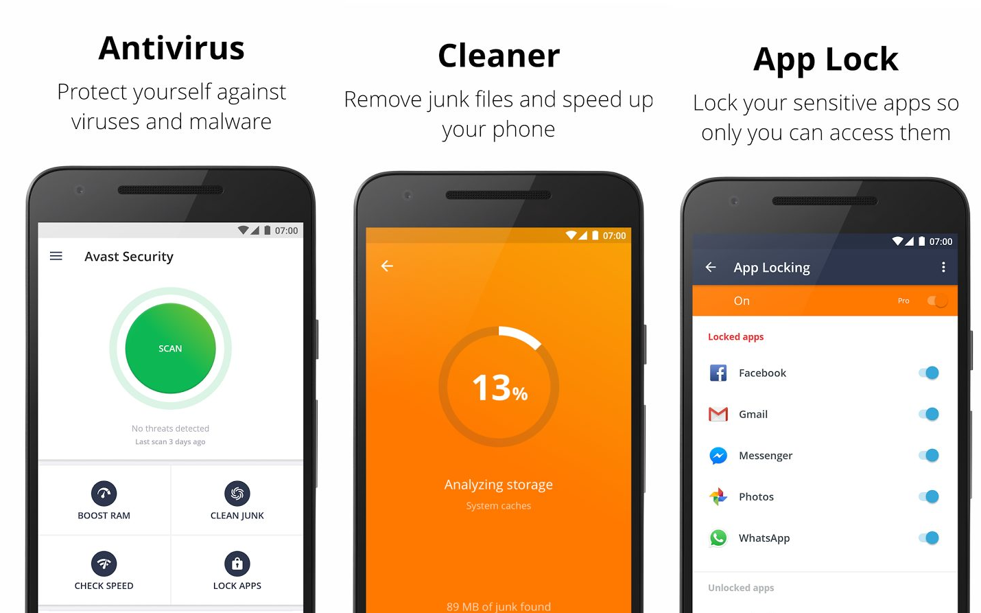 Avast Mobile Security Pro APK Download 2019