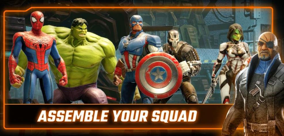 Marvel Strike Force Apk